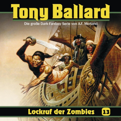 Tony Ballard – 13 Lockruf der Zombies